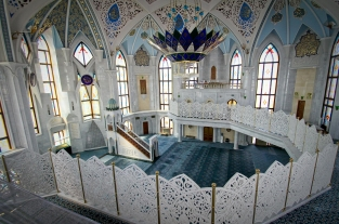 The Qolşärif Mosque. Kazan